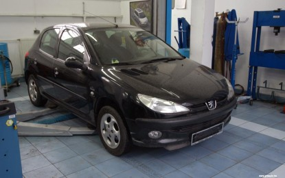 Održavanje polovnog Peugeota 206 1.4 i 1.9D (1998.-2005.)
