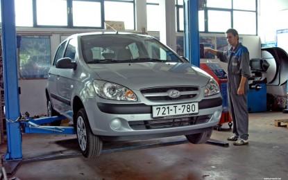 Održavanje polovnog Hyundaija Getza 1.1 MPI i 1.4 MPI (2002.-2008.)