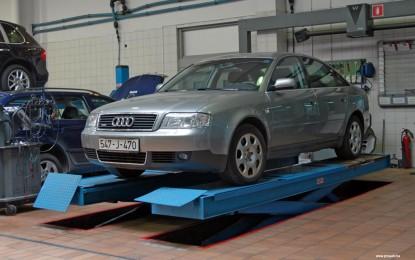 Održavanje polovnog Audija A6 2.4 30v i 2.5 TDI V6 (1998.-2004.)
