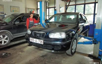 Održavanje polovne Hyundai Elantre 1.6 GL i 2.0 CRDi (2000.-2006.)