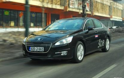 TEST – Peugeot 508 Allure 2.0 HDi automatik