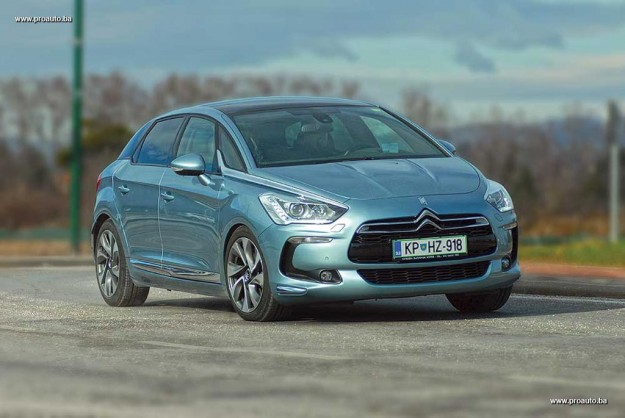 TEST – Citroen DS5 Sport Chic HDi 160 BVA6