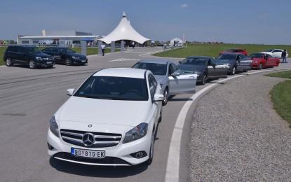 ProAuto na testnoj stazi NAVAK sa Mercedes-Benzom i njegovim AMG perjanicama [Video i Galerija]