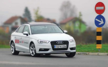 TEST – Audi A3 Sedan 2.0 TDI Attraction (150)