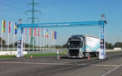 Finale takmičenja Volvo Trucks The Drivers' Fuel Challenge 2014 za tržište Srednja i istočna Evropa