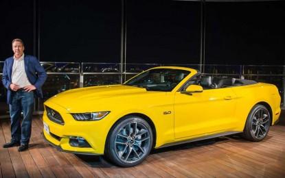 Fordovi inženjeri sastavili novog Mustanga GT Convertible na 112-tom spratu Burj Khalife