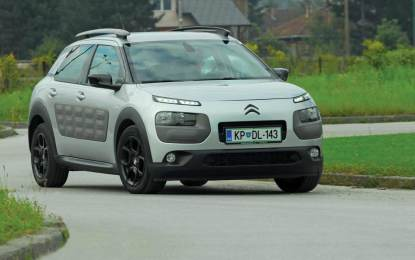 TEST – Citroen C4 Cactus Feel Edition Silver e-HDi 92 ETG6