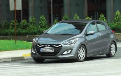 TEST – Hyundai i30 1.4 16v iStar plus