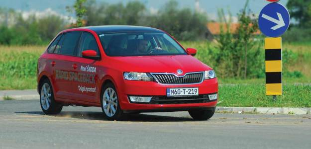 TEST – Škoda Rapid Spaceback 1.2 TSI Elegance