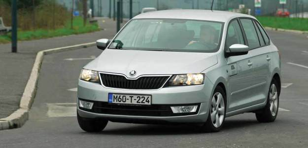 TEST – Škoda Rapid Spaceback 1.6 TDI Ambition (90)