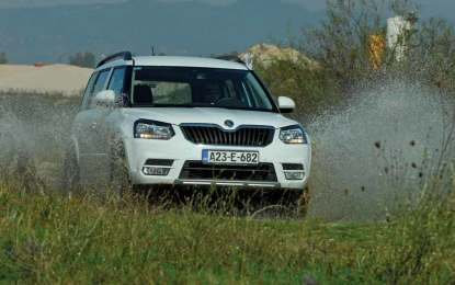 TEST – Škoda Yeti City 2.0 TDI 4×4 Ambition (110)