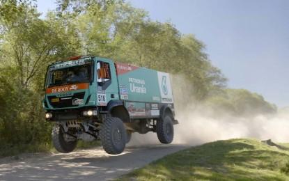EKSKLUZIVNO – Kamioni na Dakar Rallyju 2015