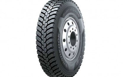 Hankook je predstavio novu gumu za pogonske točkove teških komercijalnih vozila – SmartWork DM09