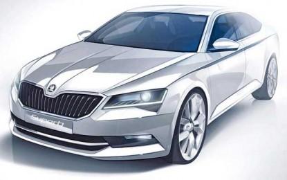 Već možemo pretpostaviti kako će izgledati nova Škoda Superb