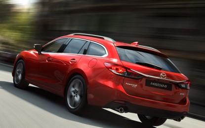 Redizajnirana Mazda 6 dostupna je sa pogonom na četiri točka