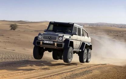 Mercedes-Benz G63 AMG 6×6 više se neće proizvoditi [Video]