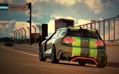 Mini je otkrio Vision Gran Turismo Concept za popularnu igru Gran Turismo 6