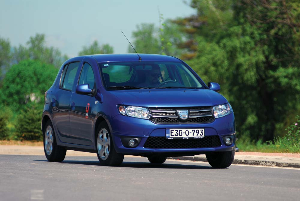 proauto test dacia sandero ii 1 5 dci 75 laureate. Black Bedroom Furniture Sets. Home Design Ideas