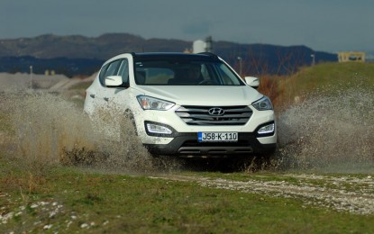 TEST – Hyundai Santa Fe 2.2 CRDi A/T 4WD Executive