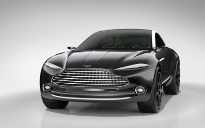 Konceptni DBX pokazuje interesantnu budućnost Astona Martina