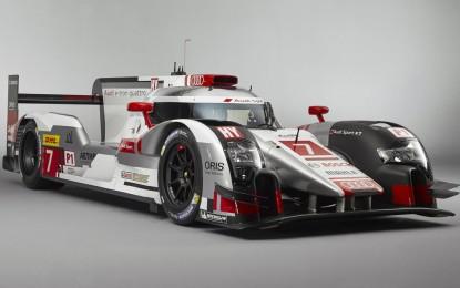 Audi je predstavio novi LMP1 prototip za sezonu WEC 2015