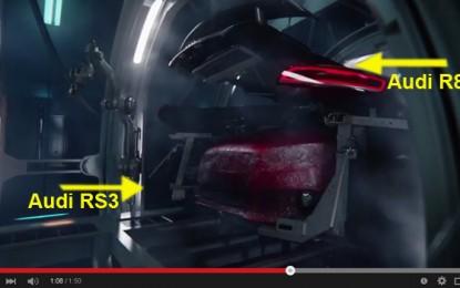 Audi R8 rađa Audija RS3 u najbizarnijem videu ove godine [Video]