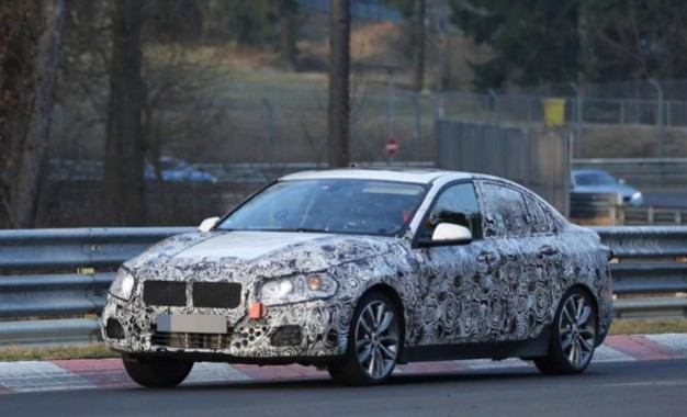 BMW priprema seriju 1 sedan na Nurburgringu