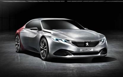 Peugeotov konceptni četverovratni kupe pred produkcijom?