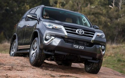 Predstavljena nova Toyota Fortuner [Galerija]