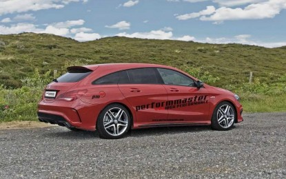 Tunirani CLA 45 AMG Shooting Brake sposoban za 280 km/h