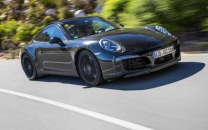 Porsche objavio slike novog 911 prototipa [Galerija]