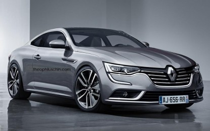 Renault Talisman Coupe zamijenio bi Lagunu Coupe