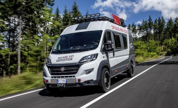 Fiat Ducato 4×4 Expedition Show Camper Van [Galerija i Video]
