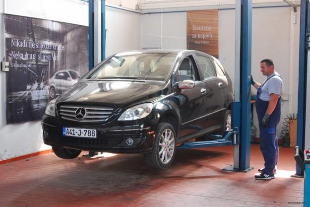 Mercedes b klasa održavanje