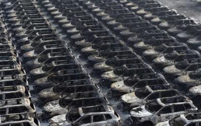 """Ogromna eksplozija u kineskoj luci Tianjin koštala """"života"""" hiljade Volkswagenovih vozila [Video]"""
