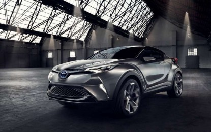Novi Toyotin crossover C-HR Concept mogao bi uzdrmati tržište [Galerija]