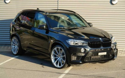 BMW X5 i BMW X6 sa snagom superautomobila