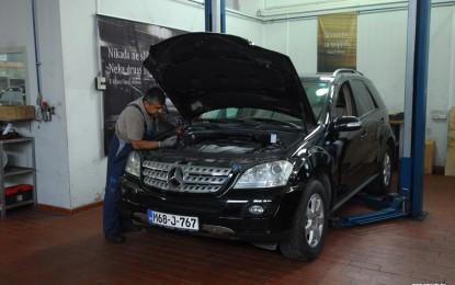 Održavanje polovnog Mercedesa ML 320 CDI [W164] (2005.-2011.)