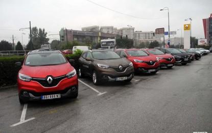 Na bosanskim piramidama u Visokom domaćoj javnosti prezentirana dva Renaulta [Galerija]
