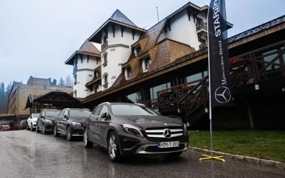 Mercedes-Benz i STARline na Jahorini predstavili nove SUV-ove [Galerija]