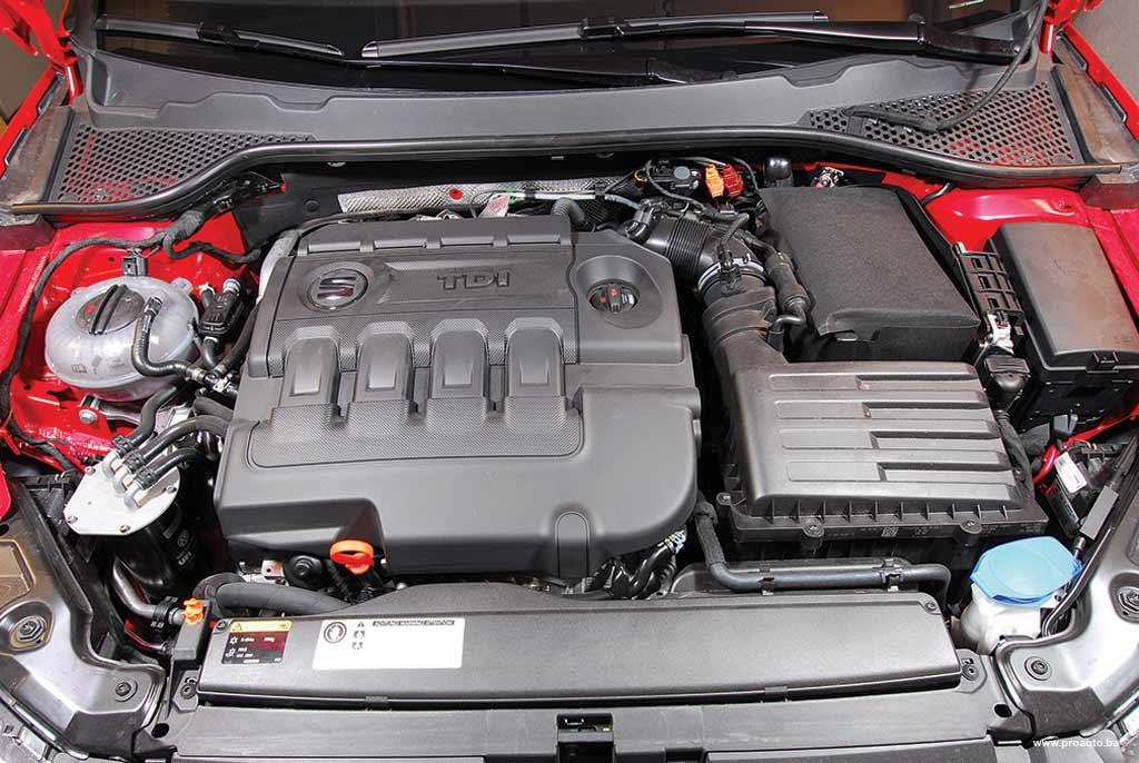 Iako je motor isti kao i u Golfu, i u Audiju koje smo već vozili, čini se da je Leon najživlji od poznate trojke. Međuubrzanja od 60 do 80 km/h pokazala su da je Seat Leon zaista nešto brži od oba (skuplja) modela. I da, zaboravili smo, troši oko 7 litara.
