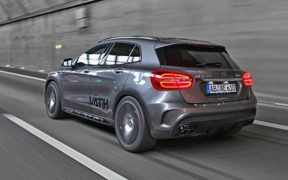"""Väthov """"pogled"""" na Mercedesa GLA 45 AMG [Galerija]"""