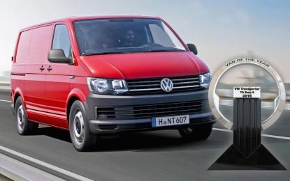 """Volkswagen T6 Euro 6 je """"International Van of the Year 2016"""""""
