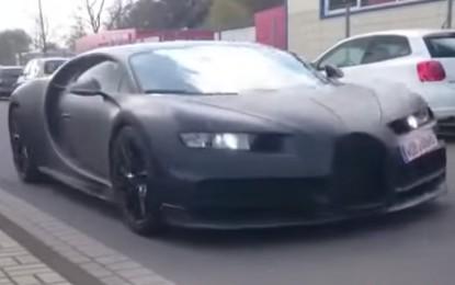Bugatti Chiron u završnim fazama razvoja [Video]