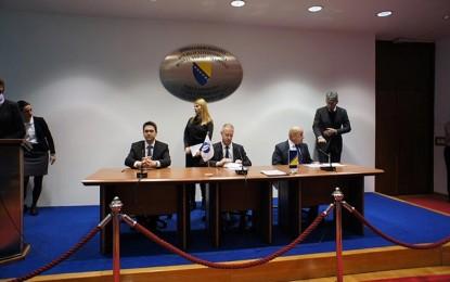 Potpisani ugovori o finansiranju novih 11 kilometara autoceste na Koridoru Vc