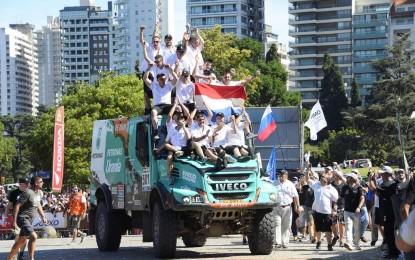Ivecova armada osvojila Dakar