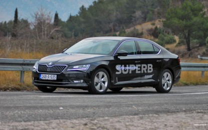TEST – Škoda Superb B8 2.0 TDI 4×4 Style (150 KS)