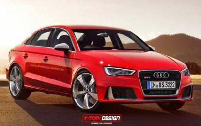 Audi radi na RS3 Sedanu koji postaje najbrži u klasi