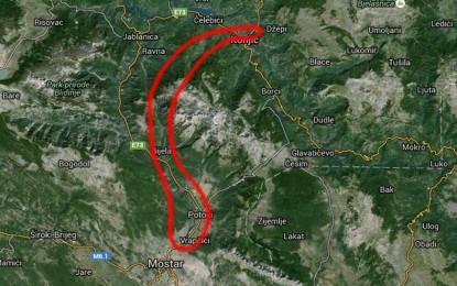 Može li trasa autoceste Konjic – Mostar biti kraća za 18 km, a istovremeno dvostruko jeftinija?