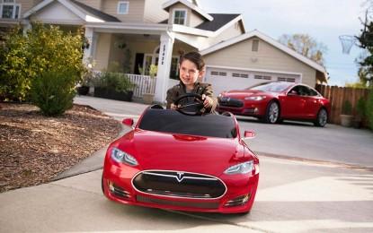 Minijaturni Tesla Model S za djecu košta 500 američkih dolara [Video i Galerija]
